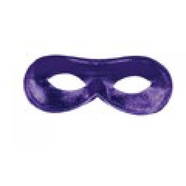 Αποκριάτικη Μάσκα Ματιών Ντόμινο (Μωβ)