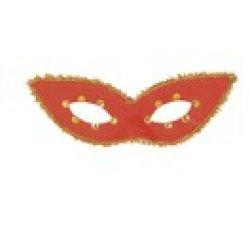 Αποκριάτικη Μάσκα Ματιών με Μύτες (Κόκκινο)
