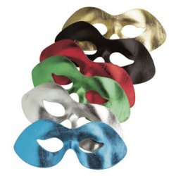 Αποκριάτικη Μάσκα Ματιών Κουκουβάγια (6 Χρώματα)