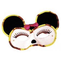 Αποκριάτικη Μάσκα Ματιών Ποντικίνα