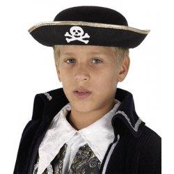 Αποκριάτικο Παιδικό Καπέλο Πειρατή Τσόχινο
