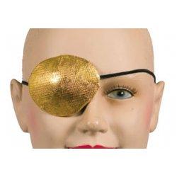 Αποκριάτικο Αξεσουάρ Μάτι Πειρατή Πάνινο Χρυσό