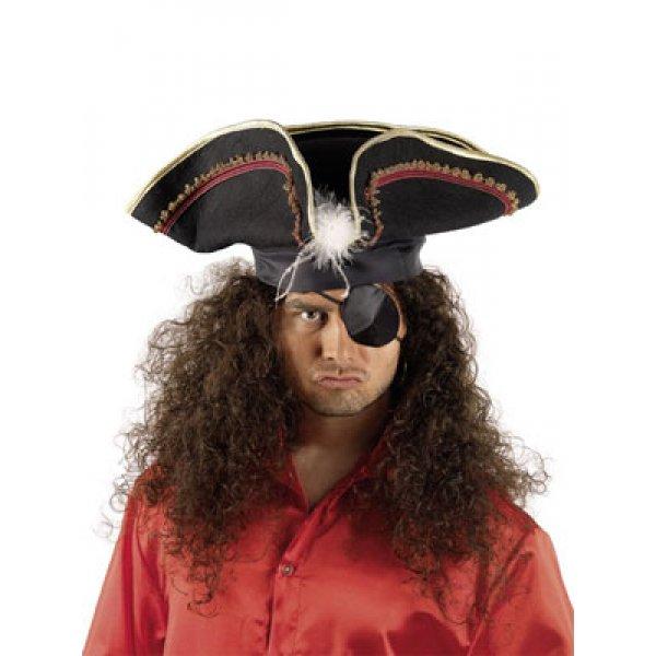 Αποκριάτικο Αξεσουάρ Μάτι Υφασμάτινο και Σκουλαρίκι Πειρατή