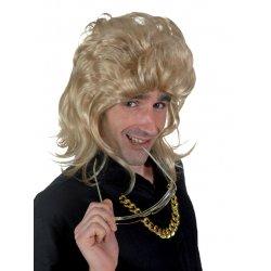 Αποκριάτικη Περούκα 80's Ανδρική