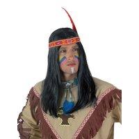 Αποκριάτικες περούκες Ινδιάνων