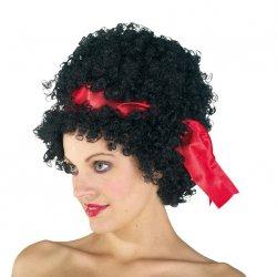 Αποκριάτικη Περούκα Betty Μαύρη