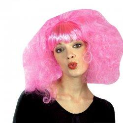 Αποκριάτικη Περούκα Lolipop Ροζ με Αφέλεια