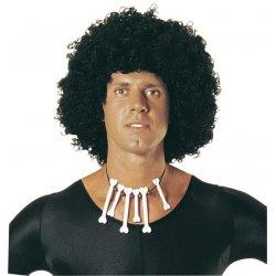 Αποκριάτικη Περούκα Αφάνα Μαύρη 2