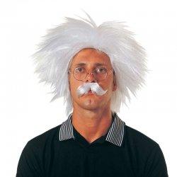 Αποκριάτικη Περούκα Αϊνστάιν με Μουστάκι