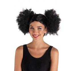 Αποκριάτικη Περούκα Κοτσίδα Άφρο