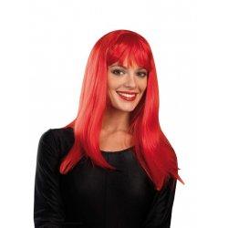 Αποκριάτικη Περούκα Sindy Κόκκινη