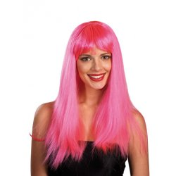 Αποκριάτικη Περούκα Sindy Ροζ