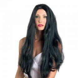 Αποκριάτικη Περούκα Μαύρη 2