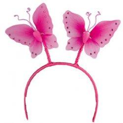 Αποκριάτικη Στέκα Bobber Πεταλούδες