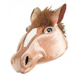 Αποκριάτικο Αξεσουάρ Καπέλο Υφασμάτινο Καφέ Άλογο