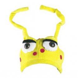 Αποκριάτικο Αξεσουάρ Καπέλο Μυρμήγκι Κίτρινο