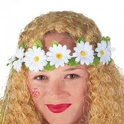 Αποκριάτικο Αξεσουάρ Στεφάνι με Λουλούδια