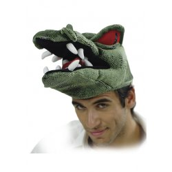 Αποκριάτικο Αξεσουάρ Καπέλο Κροκόδειλος 2