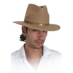 Αποκριάτικο Αξεσουάρ Καπέλο Καου Μποι Δερμάτινο - 2 Χρώματα
