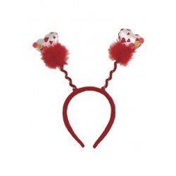 Αποκριάτικο Αξεσουάρ Στέκα Μαλλιών με Διάφορα Σχήματα Καρδιάς