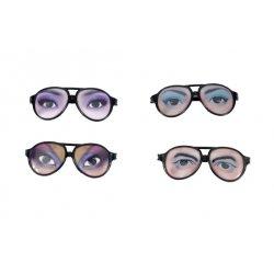 Αποκριάτικα Γυαλιά με Μάτια - 4 Σχέδια