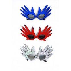 Αποκριάτικα Γυαλιά με Σχήμα Χέρια - 3 Χρώματα