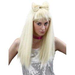 Αποκριάτικη Περούκα Ξανθιά Gaga