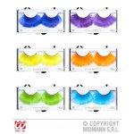 Αποκριάτικες Βλεφαρίδες με Φτερά - 6 Χρώματα