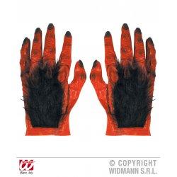 Αποκριάτικα Γάντια Λάτεξ Διαβόλου