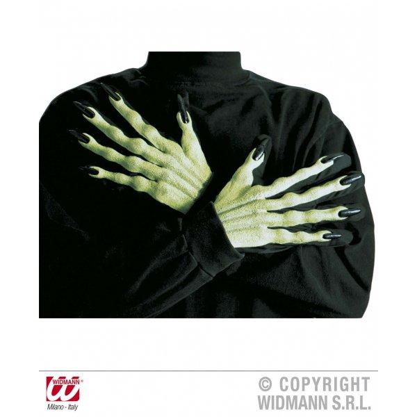 Αποκριάτικα Γάντια Μάγισσας Τρισδιάστατα