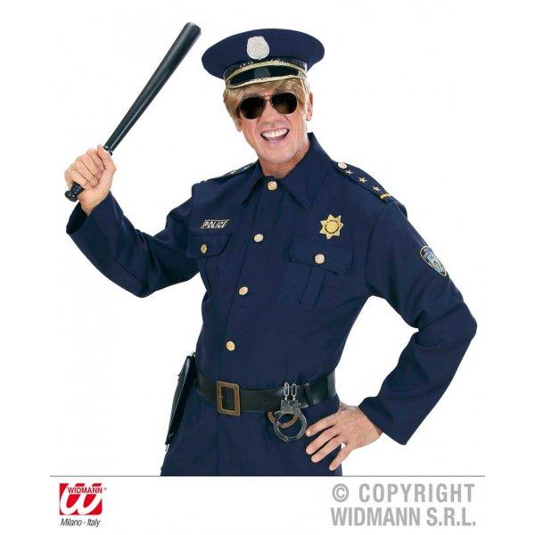 Αποκριάτικο Αξεσουάρ Γυαλιά Μαύρα Αστυνομικού - Καθρέφτης