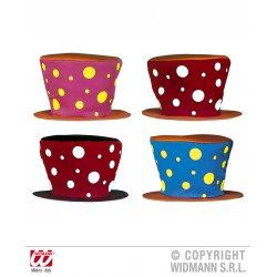 Αποκριάτικο Αξεσουάρ Καπέλο Κλόουν - 2 Χρώματα