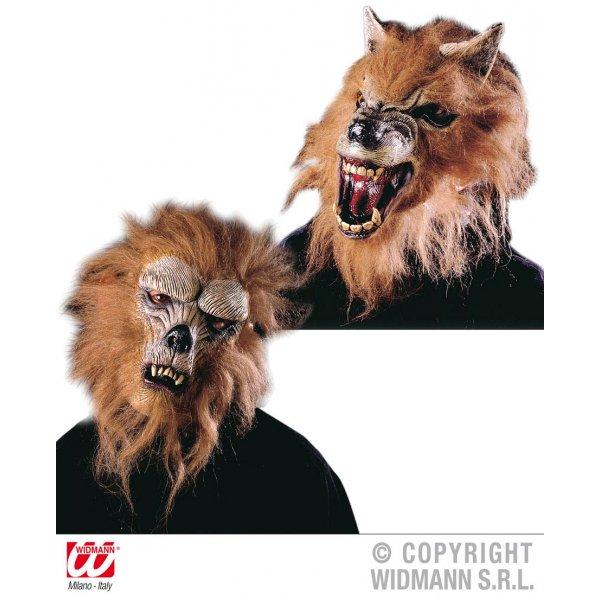 Αποκριάτικη Μάσκα Latex με Τρομακτικά  Ζώα (2 Σχέδια)
