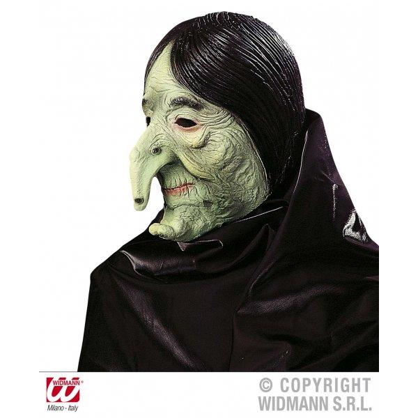 Αποκριάτικη Μάσκα Latex Μάγισσα