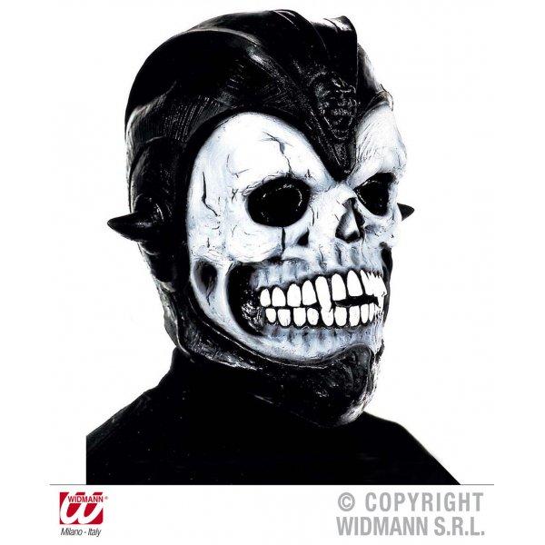 Αποκριάτικη Μάσκα Latex Νεκροκεφαλή, με Μυτερά Αυτιά
