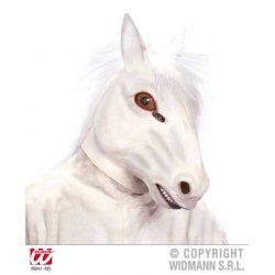 Αποκριάτικη Μάσκα Latex Άλογο Άσπρο