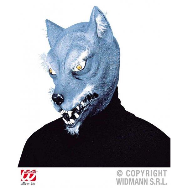 Αποκριάτικη Μάσκα Latex Λύκου