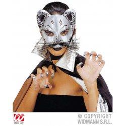 Αποκριάτικη Μάσκα Γάτα (2 Χρώματα)