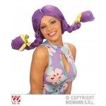 Αποκριάτικη Περούκα Κούκλας Κοτσίδες - 4 Χρώματα