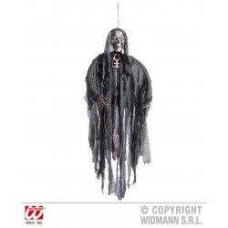 Αποκριάτικο Κρεμαστό Διακοσμητικό Τρόμου Grim Reaper που Μιλάει