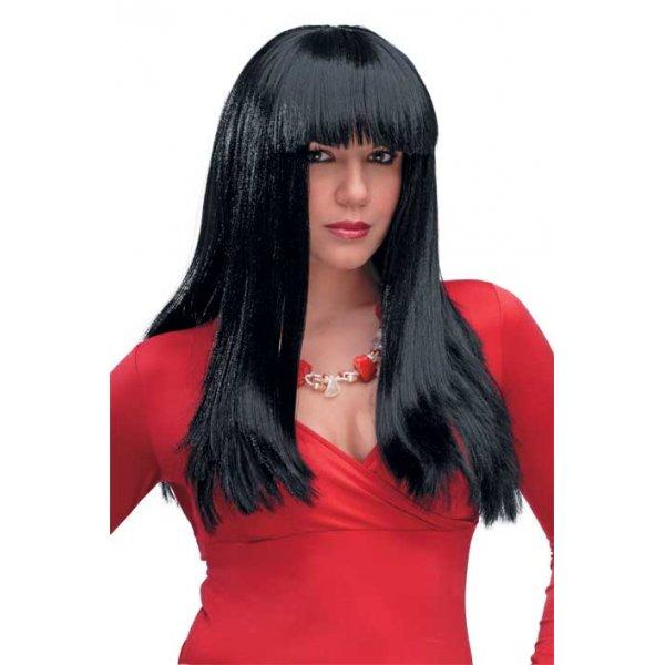 Αποκριάτικη Περούκα Σίσσυ, Μαύρη