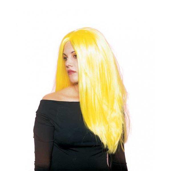 Αποκριάτικη Περούκα Σύλβια, Κίτρινη