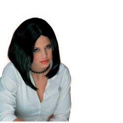 Αποκριάτικη Περούκα Λουίζα Μαύρη