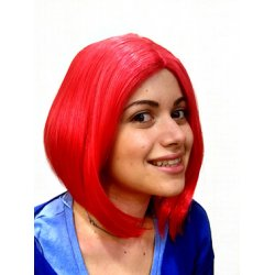 Αποκριάτικη Περούκα Λουίζα, Κόκκινη