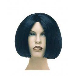 Αποκριάτικη Περούκα Ηρώ, Μαύρη