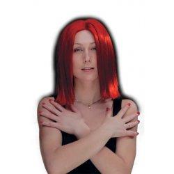 Αποκριάτικη Περούκα Ηρώ, Κόκκινη