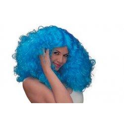 Αποκριάτικη Περούκα Δάφνη Γαλάζια