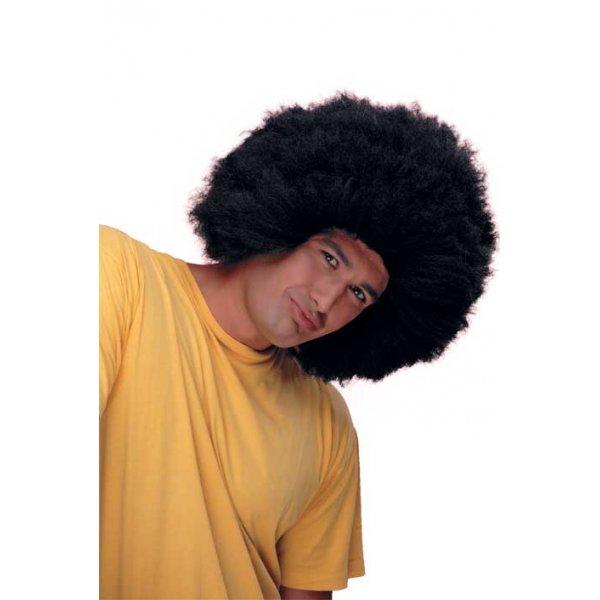 Αποκριάτικη Περούκα Μικρή Αφάνα, Μαύρη