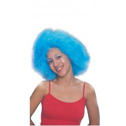 Αποκριάτικη Περούκα Μικρή Αφάνα, Γαλάζια