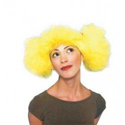 Αποκριάτικη Περούκα Λουλού, Κίτρινη